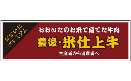 JA-01 豊後・米仕上牛お楽しみコース(豊後高田市限定・毎月発送・計3回・定期便)