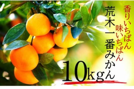 1422R_【予約受付開始】荒木一番みかん10kg