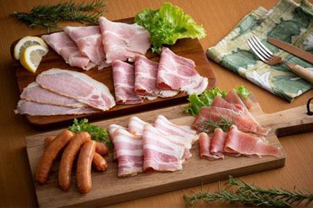 B29013 桜王豚の6種のハムとソーセージ(2.56kg)・通