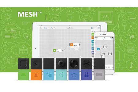 "SONYのIoTブロック ""MESH"" スターターセット(ボタン・LED・動き 3種) S001"