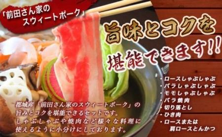 「前田さん家のスウィートポーク」バラエティ&しゃぶしゃぶ4kgセット_MJ-8911