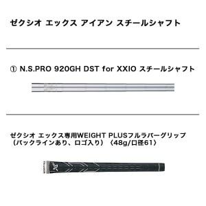 ゼクシオ エックス アイアン 5本セット スチールシャフト_DH-C710