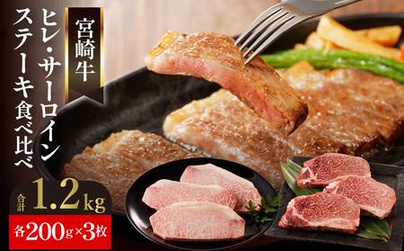 F004 延岡育ちの宮崎牛 ヒレ・サーロインステーキセット