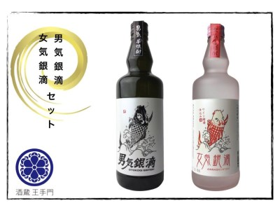 BD33-191 酒蔵王手門 男気・女気銀滴2本セット