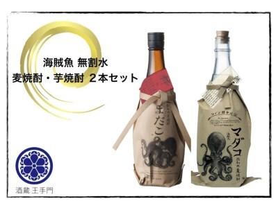 CB43-191 酒蔵王手門 海賊魚 無割水2本セット