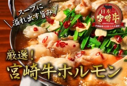BA14-191 安楽畜産厳選宮崎牛ホルモン500g