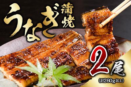 C10-191 職人手焼きうなぎ蒲焼2尾(計300g以上)