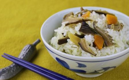 10-30 手造り味噌と万能だし醤油セット 山菜まぜご飯の素とお米つき!!