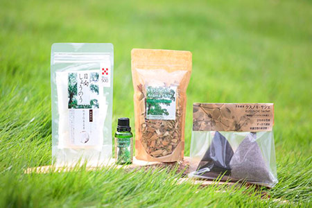 15-22 日向のかおりから生まれた・芳香洗浄セット(快樹)-樟の香りで快適な空間づくりを