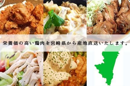 <宮崎県産若鶏ササミ4kg>翌月末迄に順次出荷【c432_hn_x1】