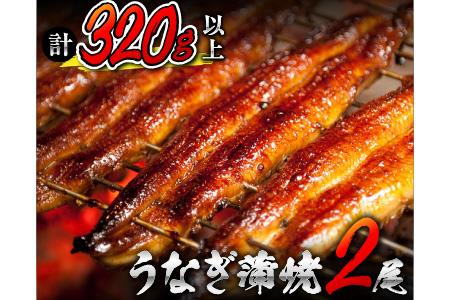 うなぎ蒲焼(長焼特大サイズ2尾入) 寄付金額10000円