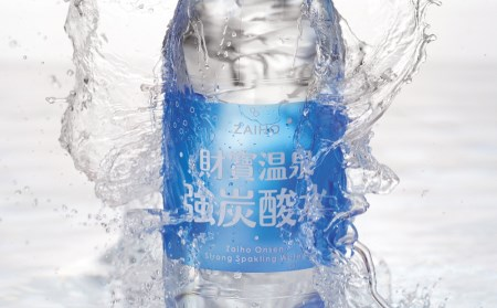J10-2212/【10回定期】 財寶温泉 強炭酸水500ml×48本