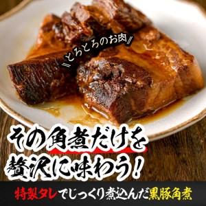 a0-023 鹿児島県産黒豚角煮 106g×8袋(計848g)