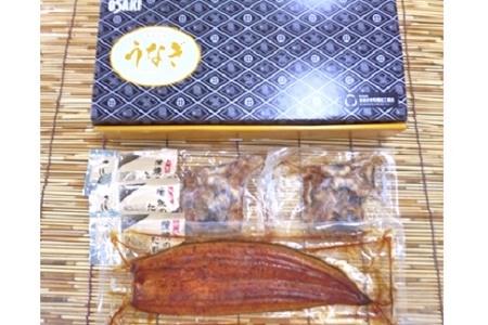 062-3-05 鹿児島県産うなぎ蒲焼1尾ときざみうなぎセット