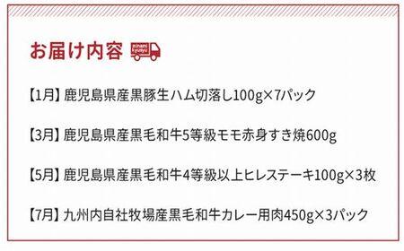 【全7回】お肉わくわく定期便Ⅱ 027-37
