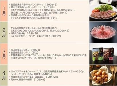 【1年間お届け】南九州プレミアムⅠ PR-01