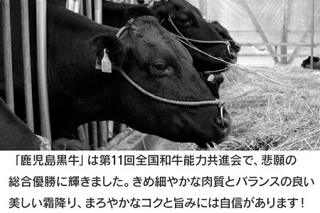022-27 期間・数量限定!鹿児島黒牛ウデスライス600g