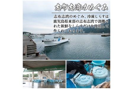 【22517】鹿児島県産生しらす(冷凍)計1kg(100g×10パック) 獲れたてしらすを急速冷凍!鮮度抜群なしらすをご家庭で気軽に!【東串良町漁業協同組合】