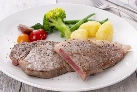 【A01010】鹿児島県産黒毛和牛サーロインステーキ〈約200g×2枚〉