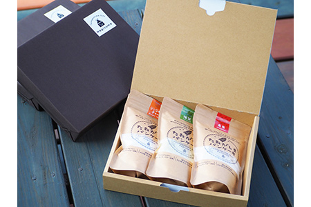 【2610-0361】たねがしまパンケーキミックス粉(詰め合わせ) 3袋入りギフトボックス
