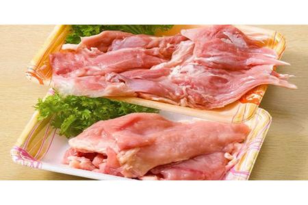 【2610-0391】種子島産インギー地鶏 盛合わせ(生肉) むね肉、もも肉