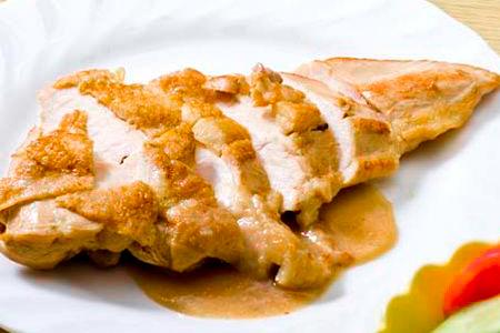 【2610-0396】種子島産インギー地鶏むね肉焼きあげステーキ味噌たれ焼き上げ