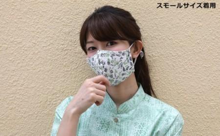 洗える《かりゆし生地》布マスク5枚セット(色柄おまかせ)レギュラー