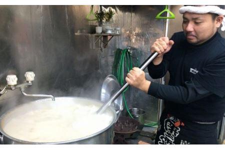 【ソーキ付き!】こだわり豚骨スープ! ソーキそば5食セット!!
