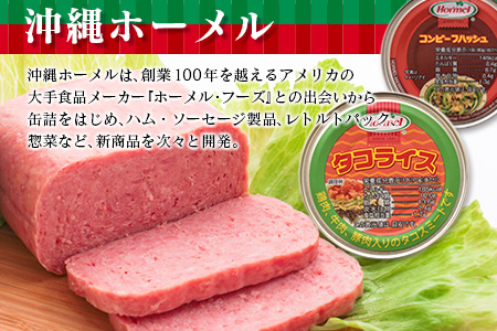 缶詰・レトルト詰め合わせセット1(タコライス缶詰70g×12缶&沖縄のお肉缶詰セット)