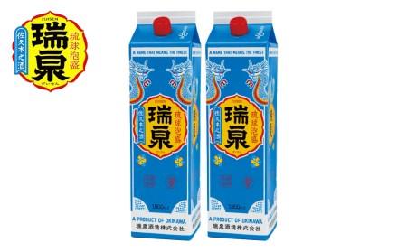 【琉球泡盛】瑞泉酒造 30%「瑞泉」1升紙パック×2