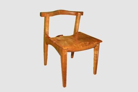 【59】椅子(イタヤ)【座面高約39.0cm】_I234-30009284