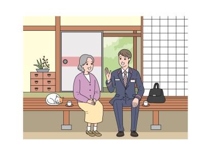 日本郵便 郵便局のみまもりサービス「みまもりでんわサービス」【6ヶ月】_I027-0255