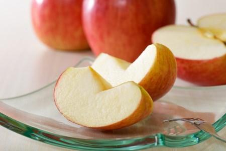 ※2021年12月上旬発送※【訳あり】 りんご 約10kg サンふじ 葉とらず 青森産