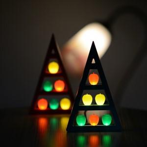 アップルツリー(赤)1個【LEDライト】