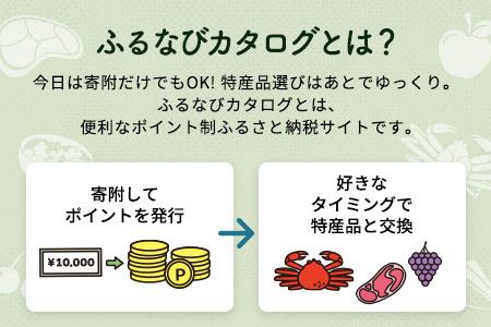 【有効期限なし!後からゆっくり特産品を選べる】青森県鰺ヶ沢町カタログポイント