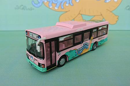 11ぴきのねこラッピングバス・1号車【トミーテック・バスコレクション80】
