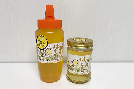 国産蜂蜜とち詰合せ