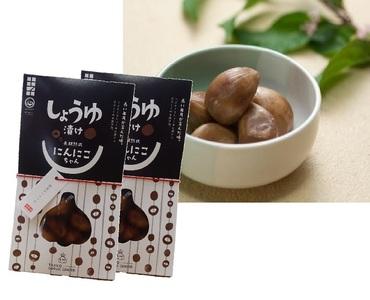 田子にんにくの醤油漬100g×2袋