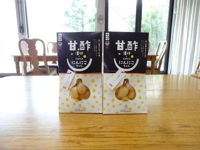 田子にんにくの甘酢漬100g×2袋