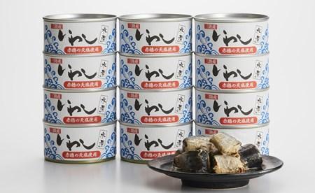 RT911 三陸産イワシ缶詰(水煮)12缶セット