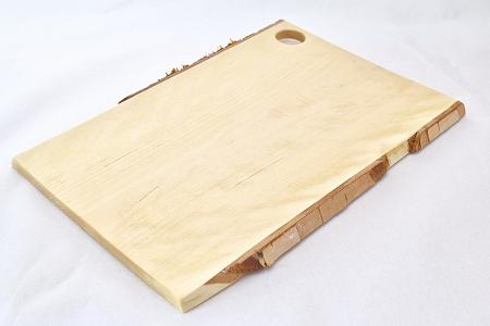 FA-31001 根室産白樺・手作りカッティングボード