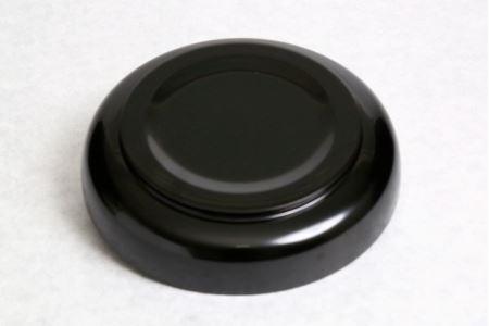 秀衡塗盛皿18cm金千代 黒[BS19]