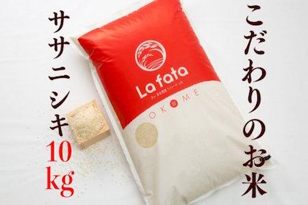 新米 令和元年度産 宮城県産 ササニシキ10kg