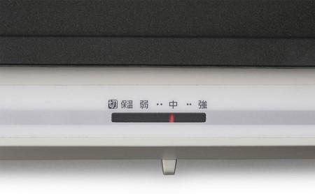 ホットプレート 左右温度調整 2枚プレート WHP-012-W