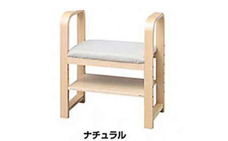 玄関椅子(ナチュラル)