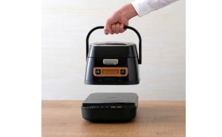 [№5730-0282]米屋の旨み 銘柄量り炊き 分離式IHジャー炊飯器 3合 RC-IA31-B