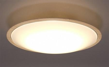 LEDシーリングライト メタルサーキットシリーズ ウッドフレーム 8畳調色 CL8DL-5.1WFU