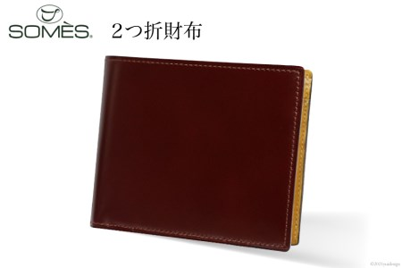 [VD-02] SOMES VD-02 2つ折財布(ダークブラウン)