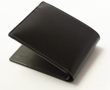 [HV-02] SOMES HV-02 2つ折財布(ブラック)