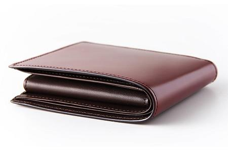 [HV-02] SOMES HV-02 2つ折財布(ダークブラウン)